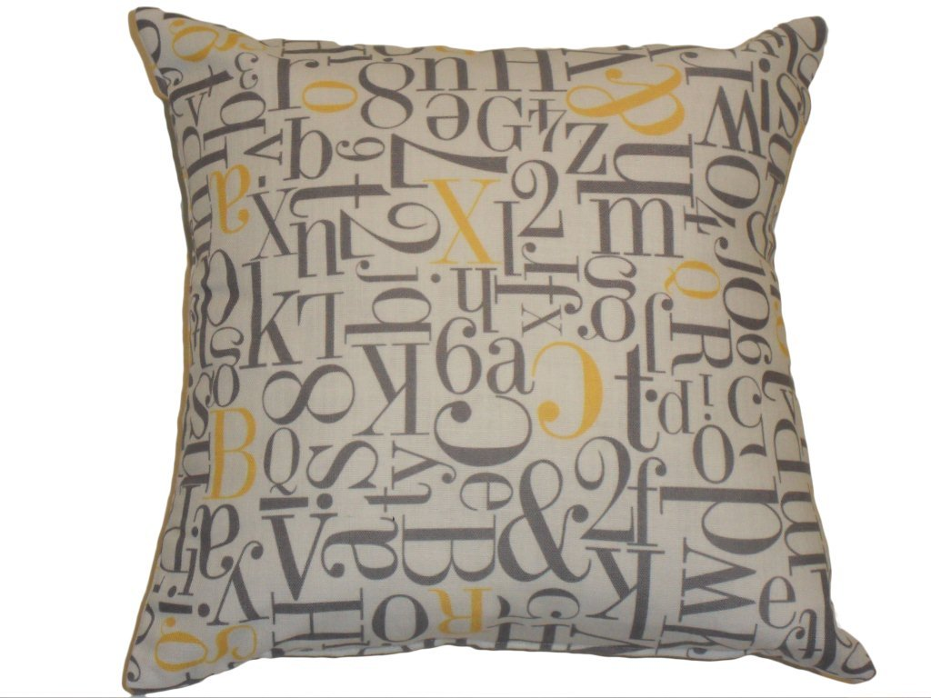 Alphabet Soup Cushion