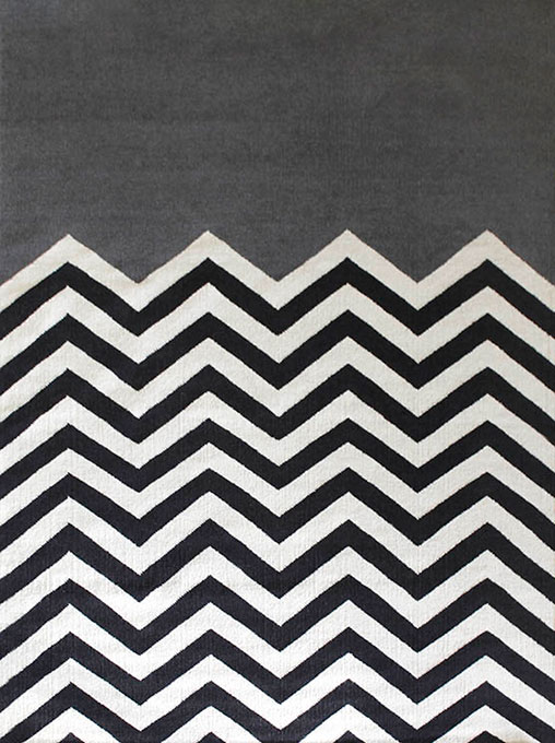 Chevron Block Charcoal - By Jamie Durie
