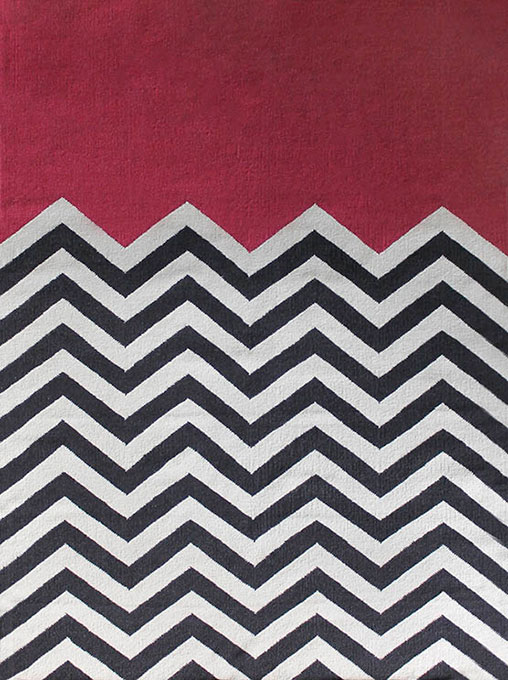 Chevron Block Fuchsia - By Jamie Durie