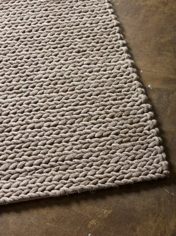 Rope rug taupe