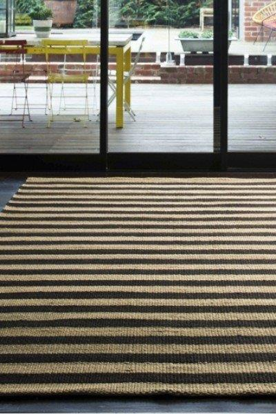 Interweave Rug - Grey/Black